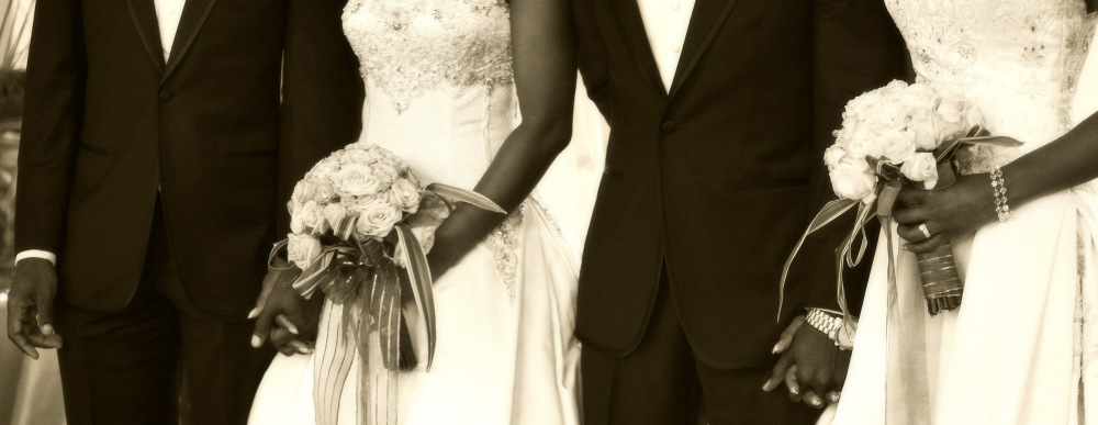 photoblog image 2 Brides 2 Grooms 1Beautiful Wedding day in Accra Ghana