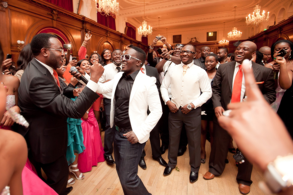 photoblog image M.I  Mr Incredible Wedding Reception London