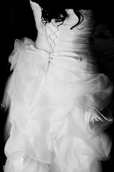 photoblog image Bridal Dress Detail