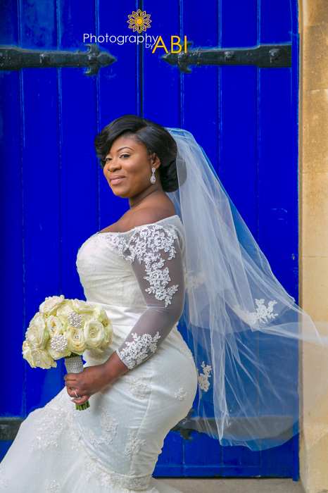photoblog image beautiful Ghanaian Bride London Wedding